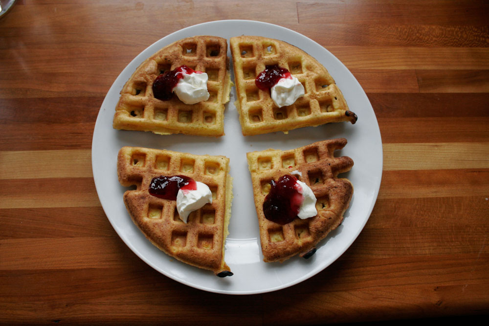 Norwegian waffles! …the way my friend's great grandmother used to ...